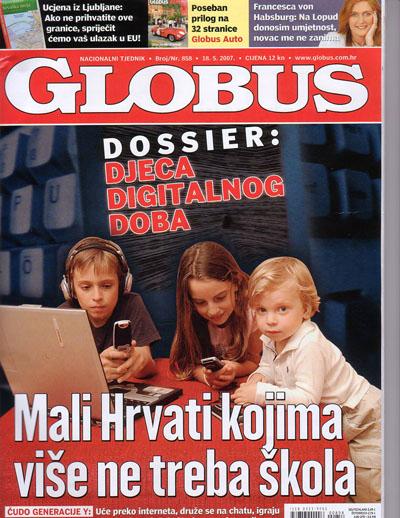 Globus Magazine cover