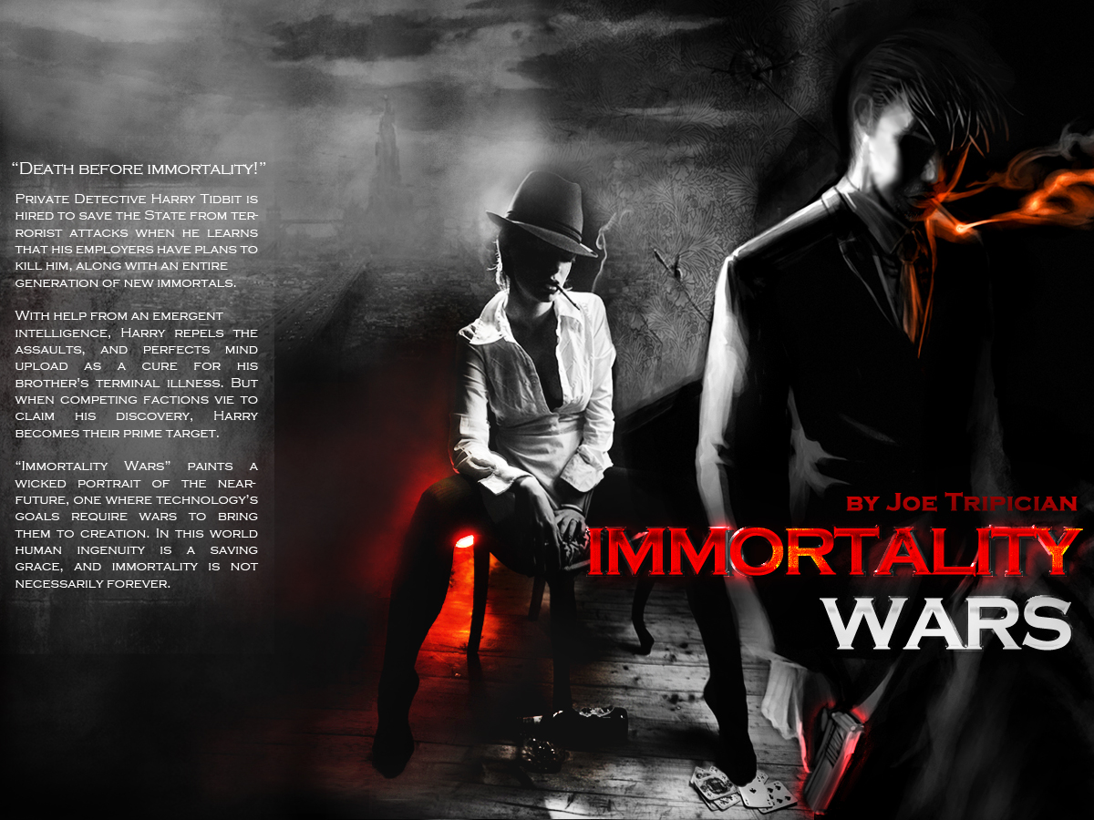 Immortality Wars - Full Book Cover
