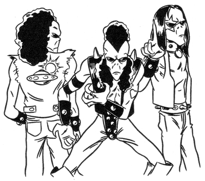 Punk Aliens
